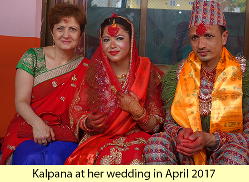 kalpana wedding2