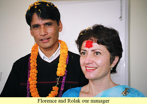 Florence and Rolak our manager