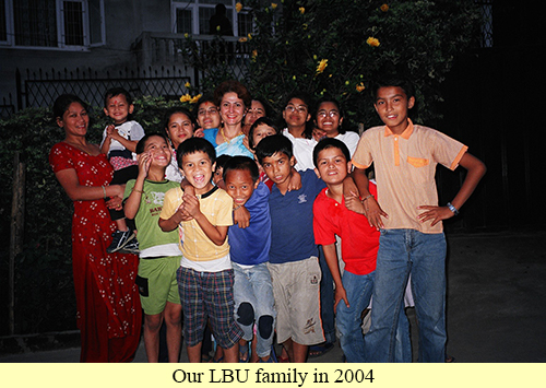 Our LBU family in 2004